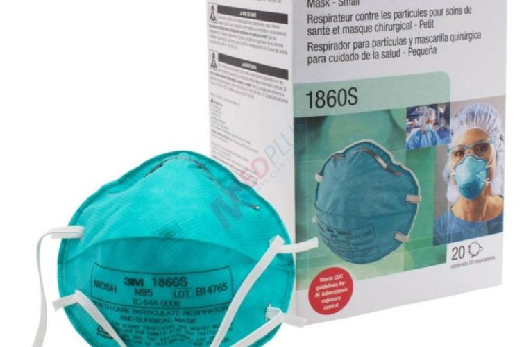 3M 1860 N95 Respirator