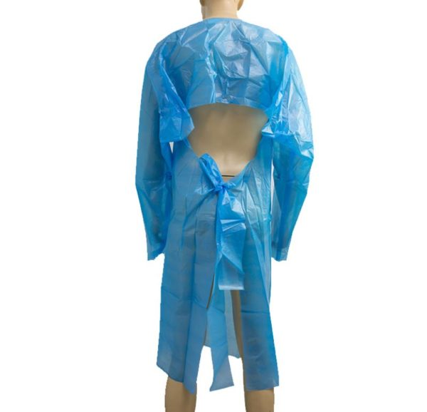 Disposable Plastic Gown (25 Micron