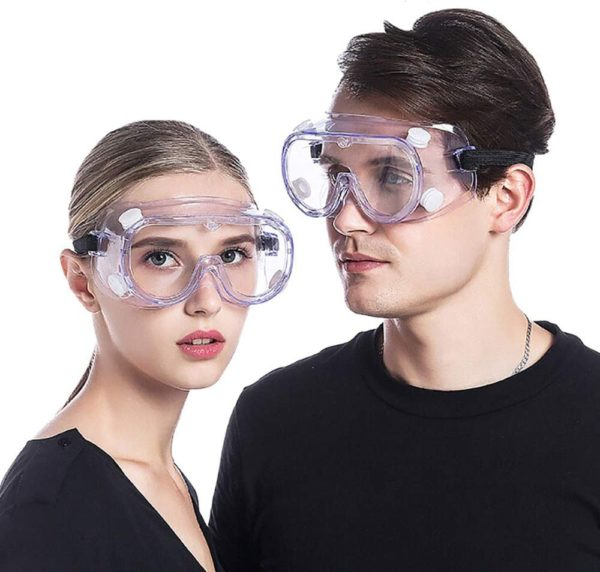 Protective Safety Goggles - Wide Vent