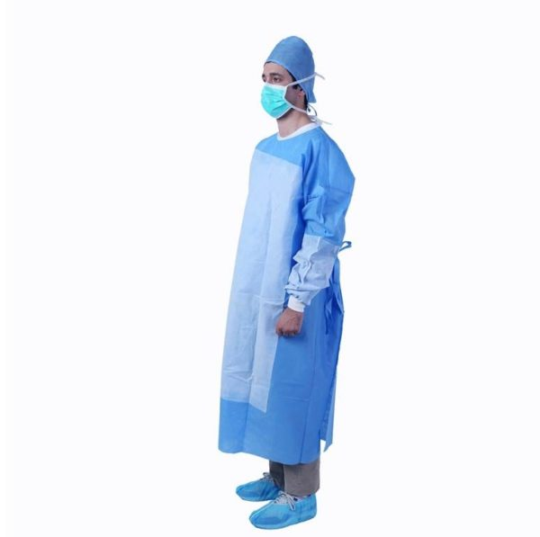 Disposable 50GSM Gown - Reinforced