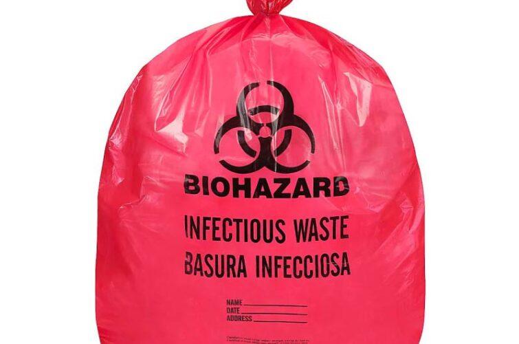 Bio-hazard Plastic Bags