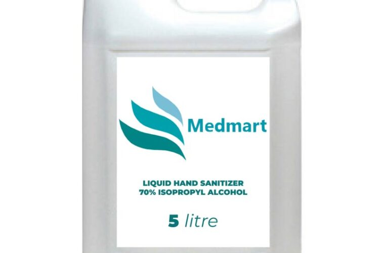 Liquid Hand Sanitizer - 70% Isopropyl Alcohol