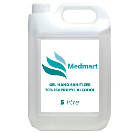 Gel Hand Sanitizer - 70% Isopropyl Alcohol