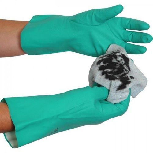 Green Nitrile Household Gloves (Pair)