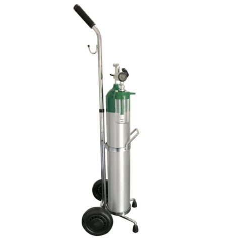 Oxygen Kit - Cylinder & Trolley (680L)